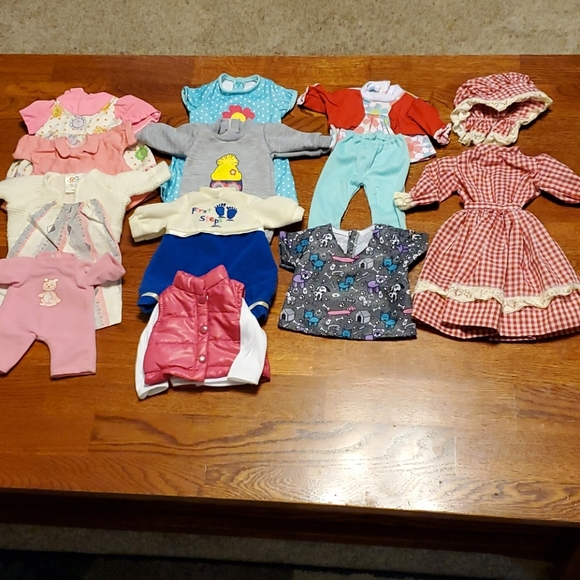 """Vintage 12"""" doll clothes"""